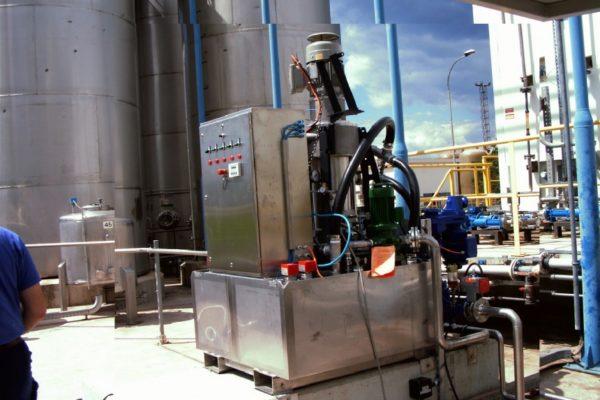1 x CS 250 skid mounted mobile ATEX diesel dewatering system (0 - 4000 l/h).