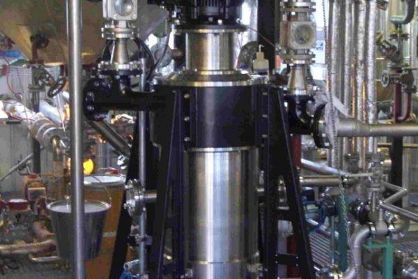 1 x CS 330 in a chemical liquid – liquid separation (4000 – 8000 l/h).
